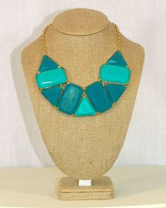 Leah Necklace in Blue by Violet Clover