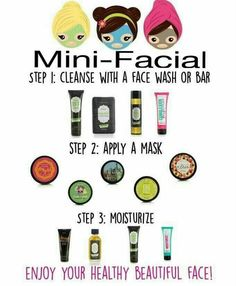 Let's have a mini facial party!!! Link to order or join Posh: https://www.perfectlyposh.com/PoshwithFaith/  Contact me at:https://www.facebook.com/tweedle.kae
