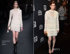Kate Mara In Valentino – 2015 Will Rogers Pioneer of the Year Dinner