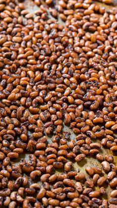 Crispy and spicy Roasted Black-Eyed Peas.
