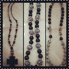 Black onyx necklaces!!!