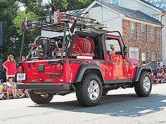 Leesburg Vol. Fire Company - Jeep Wrangler Fire Truck #Setcom #Fire