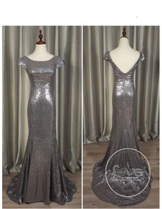 3e6a6863c4b09 Gorgeous Gray gold sparkly sequins prom bridesmaid dresses SB-005 - Bridesmaid  dresses - Only