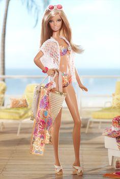 Malibu Barbie Doll by Trina Turk - Designer Barbie Dolls   Barbie Collector