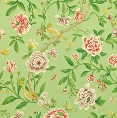 Porcelain Garden Rose/Fennel DCAVPO101 - Seinäruusu - Verkkokauppa