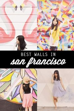 Best wall murals in San Francisco, where to go in the Bay Area, San Jose California, most instagrammable spots in San Francisco
