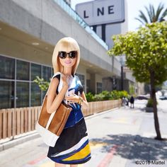 Hello Koreatown! Looking forward to an LA staycation this weekend at @thelinehotel.  #barbie #barbiestyle