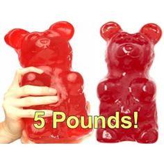 5 lb Gummy Bear!