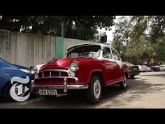 Road Ends for India's Iconic Ambassador Car | The New York Times - YouTube