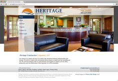 Heritage Construction - Website Design by Phoenix Web Design in Minneapolis, MN - www.PWD-MN.com
