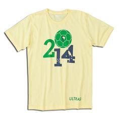 Brazil 2014 World Cup Soccer T-shirt Tee Design ecd9de5b7