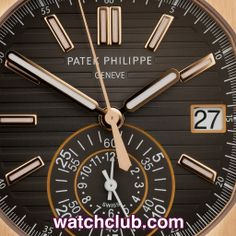 Patek Philippe Nautilus Chronograph - Rose Gold REF: 5980/1R | Year Mar 2014 - Brand new March 2014, covered by Patek Philippe's official 2 year warranty and the most impressive solid rose gold bracelet watch by a country mile! This is the gorgeous gents 40.5mm automatic Nautilus Chronograph launched at Basel in 2013. UK retailed, complete with box, Patek certificate & instructions and spare links. This watch simply couldn't be any better.