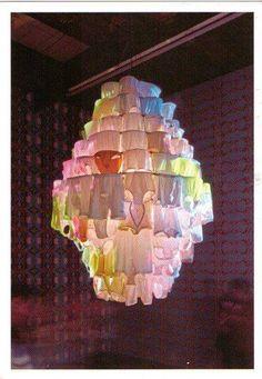 by Pipilotti Rist underwear chandelier, fabulous. by Pipilotti Ris Pipilotti Rist, Appropriation Art, Feminist Art, Scenic Design, Public Art, Installation Art, Textile Art, Sculpture Art, Decoration