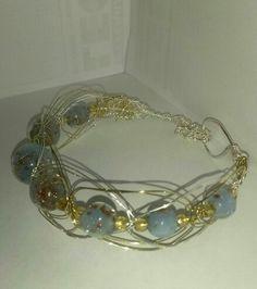 My macramè wire bracelet