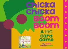 FREE Chicka Chicka Boom Boom Card Game