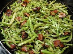 Sweet and Sour Green Beans -there's just something about sweet and sour that catches my eye everytime