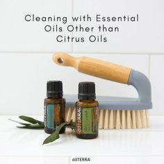 As popular as Lemon, Wild Orange, and Tangerine essential oils are in the DIY cleaning world, there are many other essential oils that you can add to your homemade cleaners. Check out what other oils you can use in this article!