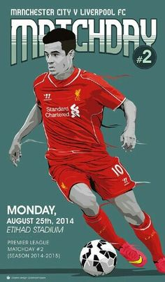 It's matchday once again for #LFC and what a game to look forward to tonight, as the Reds travel to Manchester City.  Liverpool vs Manchester City  9:00pm (SA Time)  T-2 Hours