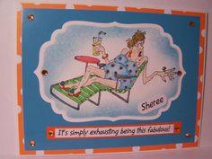 Art Impressions Stamps:   Edna (Sku#M1241)