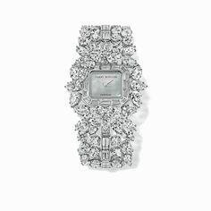 Harry Winston Emerald Cluster watch