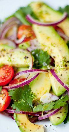 """""""Guacamole"""" Salad #Healthy"""