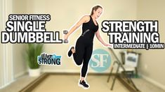 Senior Fitness, Strength Training Workouts, Full Body, Heavy Weights, Build Muscle, Workout Videos, How Are You Feeling, Exercise, Youtube