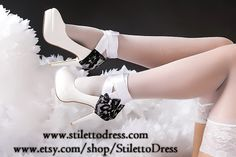 Angelic Glace --  If you like what you see, check out our webshops for more!   www.stilettodress.com --  www.etsy.com/shop/StilettoDress