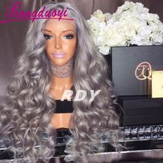 Find More Human Wigs Information about Brazilian Lace Front Human Hair Wigs Loose Wave 130% Density Full Lace Wigs 8 26inch Gray Glueless Full Lace Human Hair Wigs,High Quality wig lace,China wig light Suppliers, Cheap wig braid from Qingdao IMeya Hair Product Co.,Ltd on Aliexpress.com