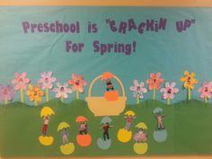 Our Easter bulletin board!