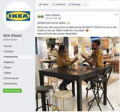 Suivez les bons plans de votre magasin IKEA en consultant sa page Facebook