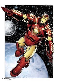 #IronMan by Bob Layton - Rare Comic Books - Google+