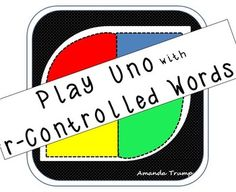 This game gives student exposure to the 4 sounds of r-controlled vowels. R-controlled vowels have 4 sounds--/air/, /ar/, /ear/, /ir/, /or/. The game is played just like UNO. There are 140 r-controlled word cards in the game. As the students play the game, it will increase their visual memory and experience reading r-controlled words.