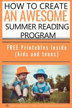 How to Create an Awesome Summer Reading Program