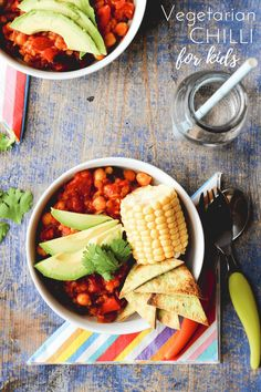 vegetarian chilli for kids. A one pot meal packed with hidden veg. vegan, vegetarian, dairy free