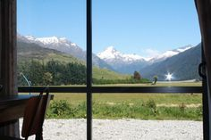 From the barn lounge looking into the valley  Wanaka $100