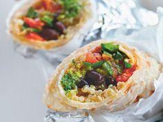 Burritos mit Quinoa