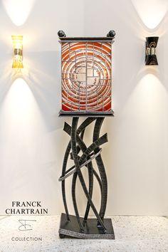 PHOENIX WONDER CABINET Art Furniture, Furniture Design, Whisky Bar, Charred Wood, Cabinet Making, Forged Steel, Leather Texture, Light Oak, Panel Doors