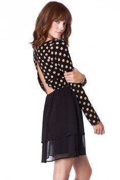 Stella Dot Dress - ShopSosie.com  Love the back on this dress! #junebugtravelgiveaway