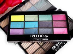 A na blogu już śmiga post TEST PALET CIENI FREEDOM PROFESSIONAL LONDON. Zapraszam 👉 http://www.deliciousbeauty.pl