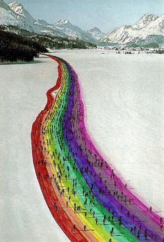 rainbow cross country ski trail