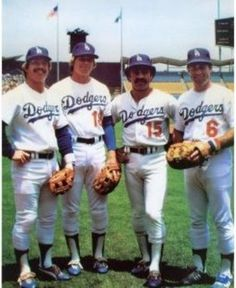 Items similar to Los Angeles LA Dodgers Infield Cey Russell Lopes Garvey Poster Art Photo Artwork or on Etsy Baseball Posters, Sports Baseball, Baseball Guys, Baseball Park, Baseball Stuff, Steve Garvey, Bill Russell, Dodger Stadium, Dodgers Baseball