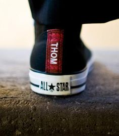 Personalized sneakers. Great groomsmen gift!     definitely doing this!