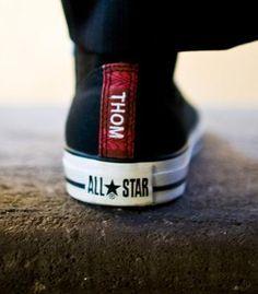 Personalized sneakers. Great groomsmen gift!