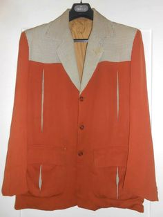 50s Hollywood jacket - label Irvin Foster