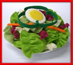 Play food - salad Visual inspiration