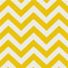 Yellow Zig Zag Fabric by the Yard | Carousel Designs