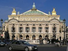 """The Paris Opera was the centrepiece of Napoleon III's new Paris. The architect, Charles Garnier, described the style simply as """"Napoleon the Third."""""""