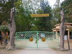 Corbett National Park Entrance Gate