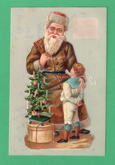 1912 French Santa Claus