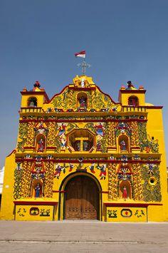 San andres xecul church - San Andrés Xecul, Totonicapán, Guatemala